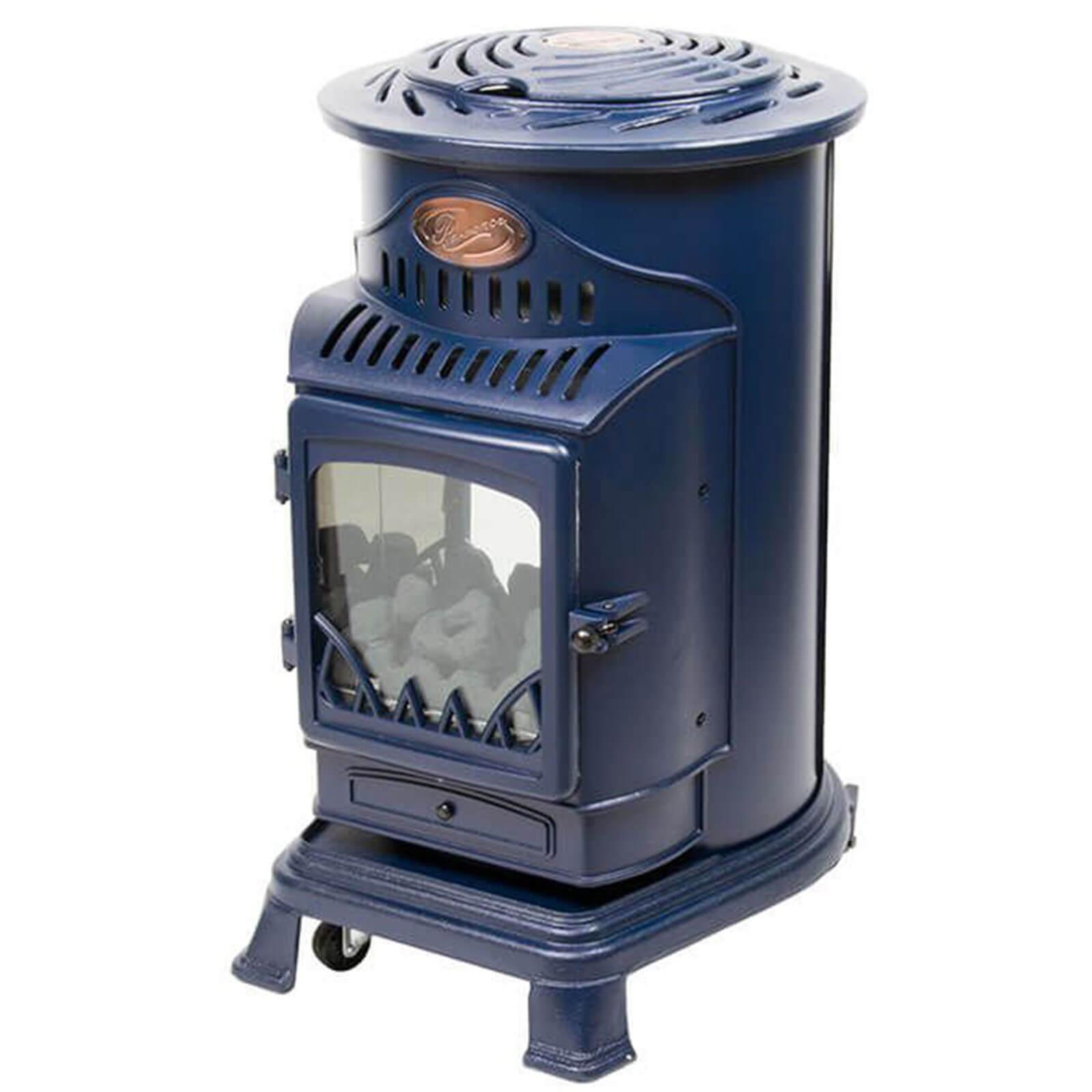 blue provence stove