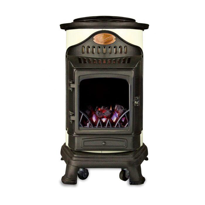 Cream provence portable gas stove