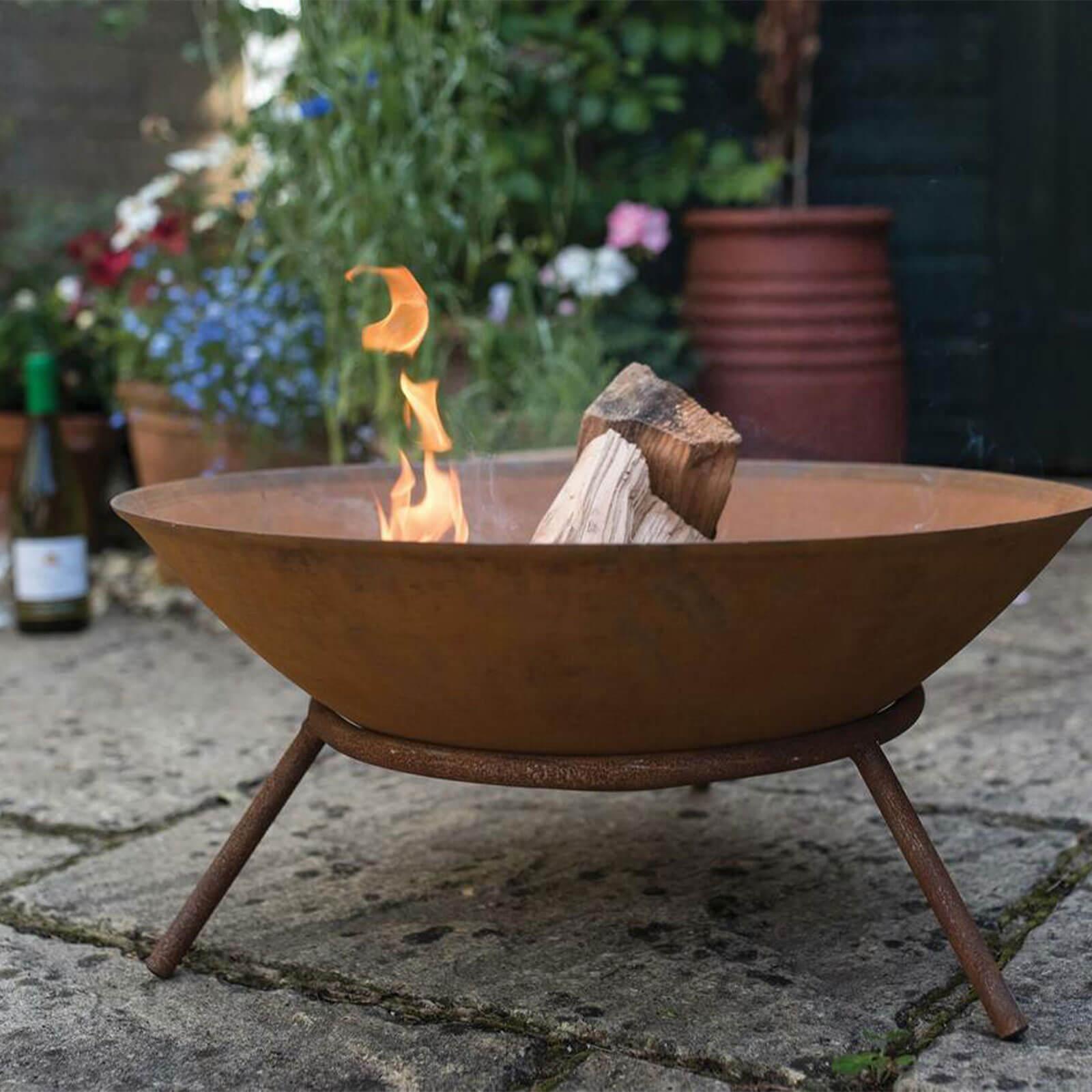 saunton rust firebowl