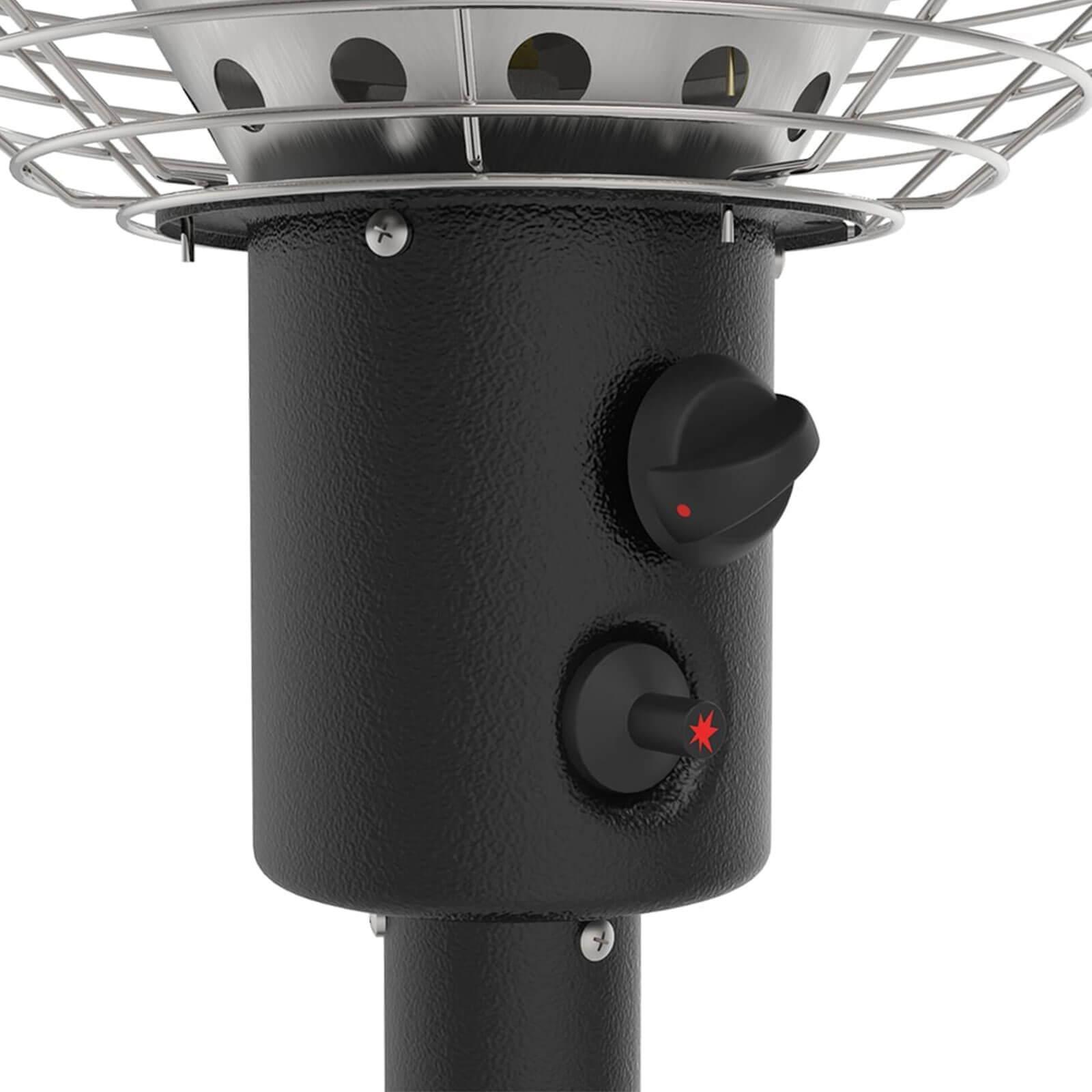 Saraha Tabletop Heater controls