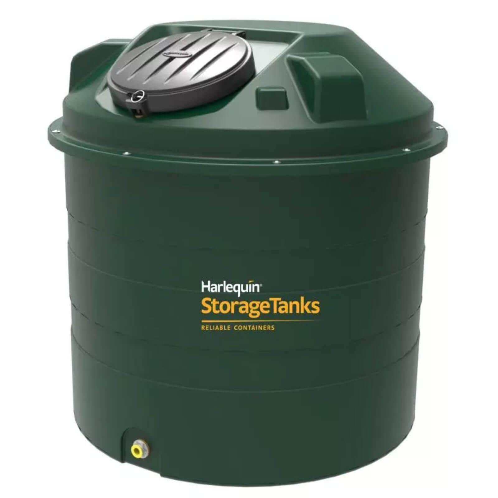 1450 bunded beehive shaped green plastic oil tank