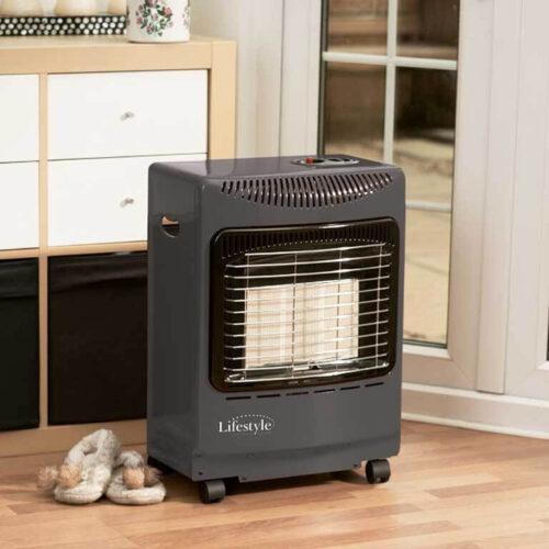mini heatforce grey cabinet heater
